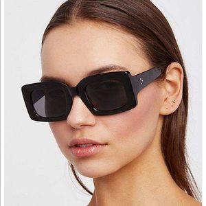 Free People Babetown Square sunglasses